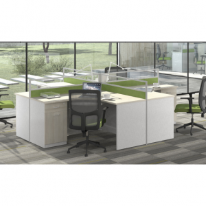 Verdena-L-Shape-Workstation-Cluster-of-4-Face-to-Face