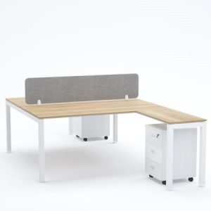 BELLA Workstation Cluster of 2 Face-to-Face T-Shape
