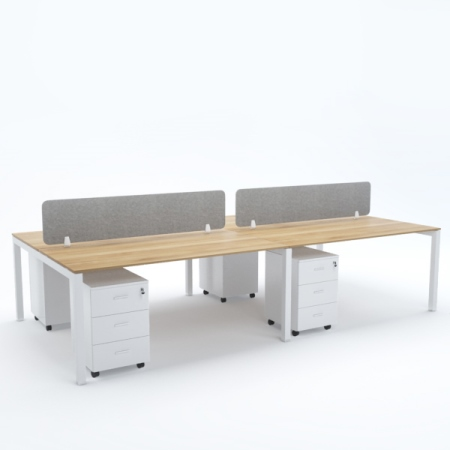 BELLA Workstation Cluster of 4 Face-to-Face