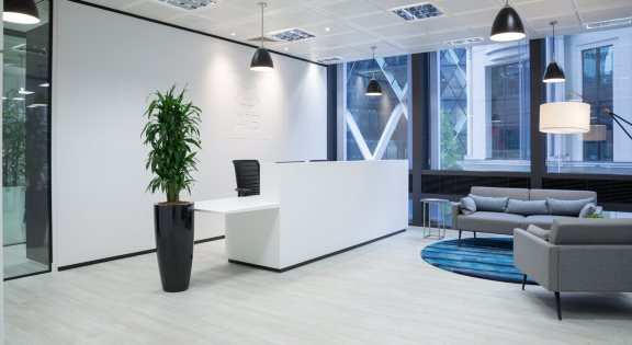 Office Reception Area Modern
