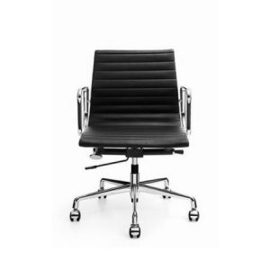 EAMES Low Back Leather Chair