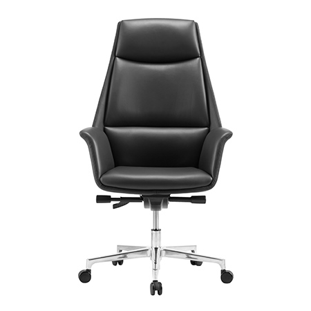 ELEANOR High Back Leather Chair