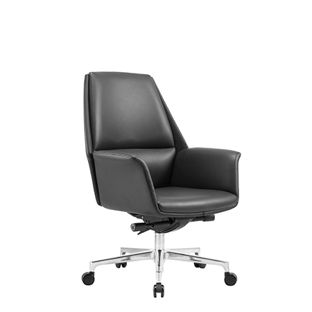 ELEANOR Low Back Leather Chair
