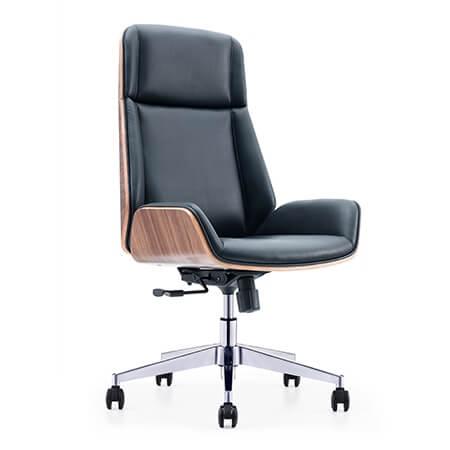 HAZEL High Back Leather Chair