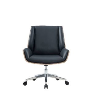 HAZEL Low Back Leather Chair