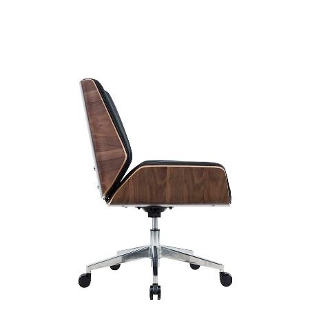 HAZEL Low Back Leather Chair