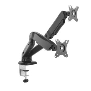Interactive Counterbalance Dual Flat Screen Desk Mount
