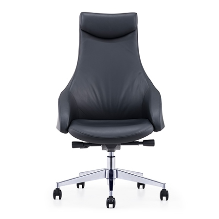 LEBLANC High Back Leather Chair