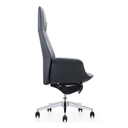 LISSANDRA High Back Leather Chair