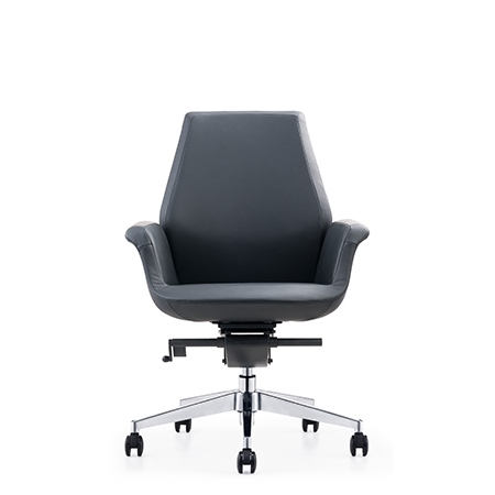 LISSANDRA Low Back Leather Chair