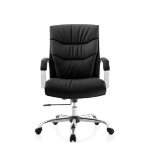 MAGGIE Low Back Leather Chair