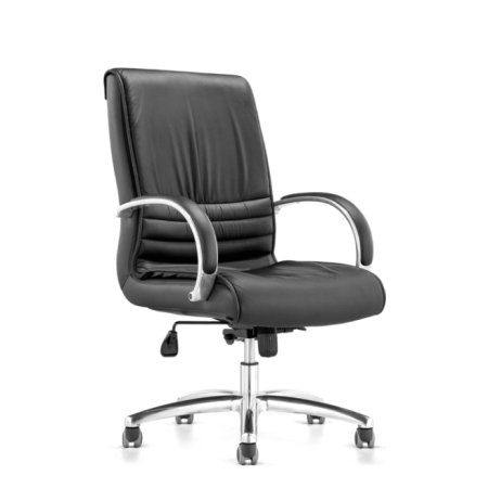 MAJOR Low Back Leather Chair