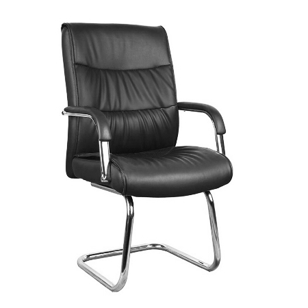 SAM Low Back Leather Visitor Chair