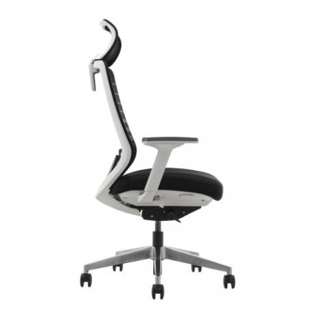 SPARTA White Frame Mesh Ergonomic Chair