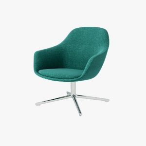 SYS Steel-Base Lounge Chair