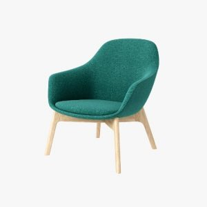SYS Wooden-Base Lounge Chair