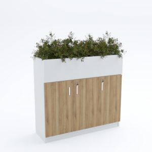 Side Cabinet (with planter box)