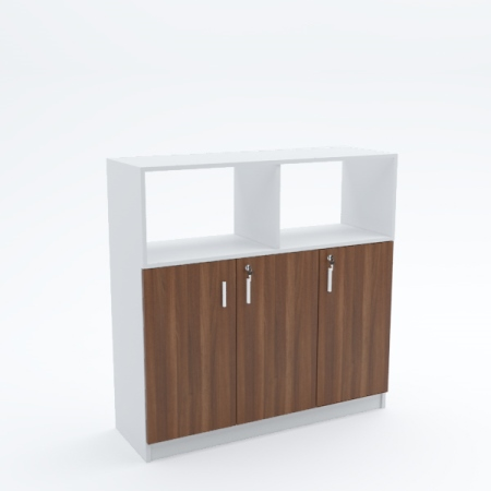 Side Cabinet (with top full open shelves)