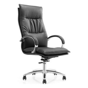 ZAZA High Back Leather Chair