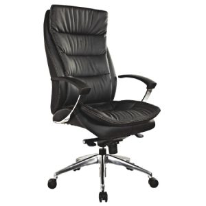ZUNA High Back Leather Chair