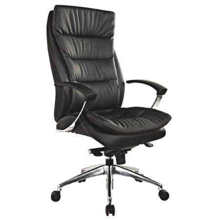 ZUNA High Back Leather Chair