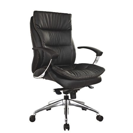 ZUNA Low Back Leather Chair