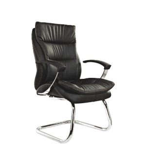 ZUNA Low Back Leather Visitor Chair