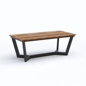 V Rectangular Coffee Table