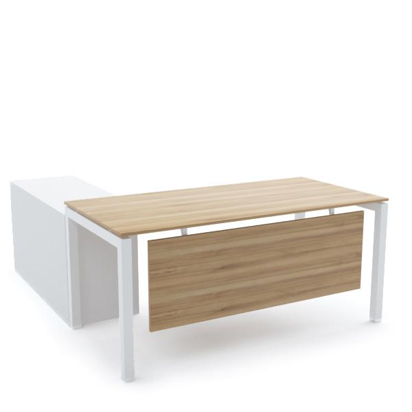 BELLA Office Desk with Side Cabinet