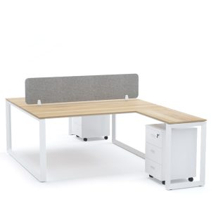 DIAMOND Workstation Cluster of 2 Face-to-Face T-Shape