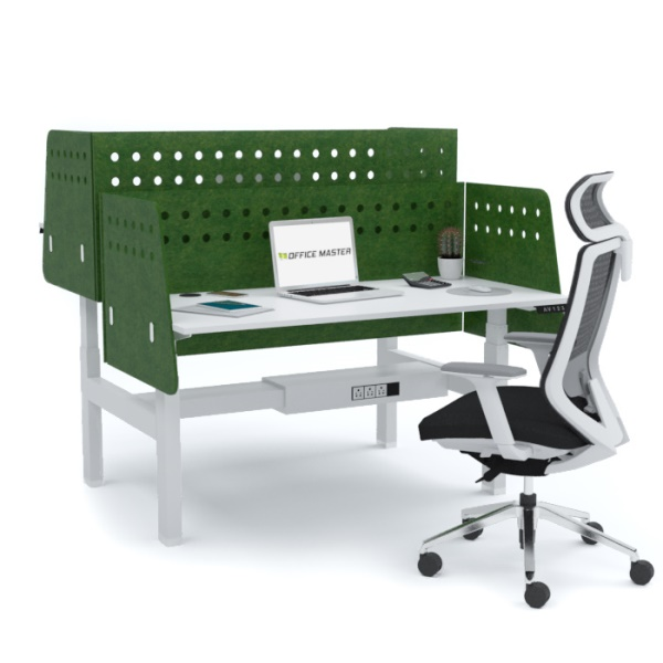 ERGOMAX Electric Height Adjustable Desk (Cluster of 2)