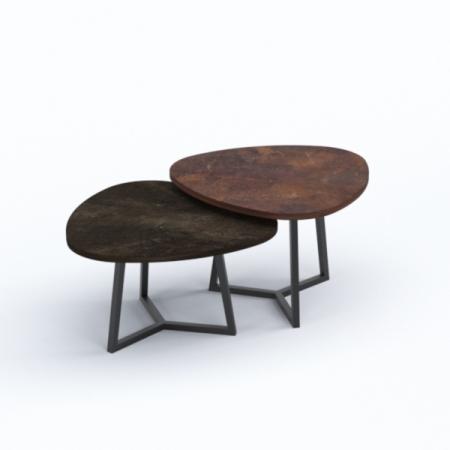 PLECTRA Dual Triangular Coffee Table