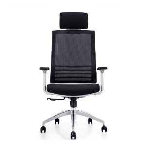 RADIAN White Frame Mesh Ergonomic Chair
