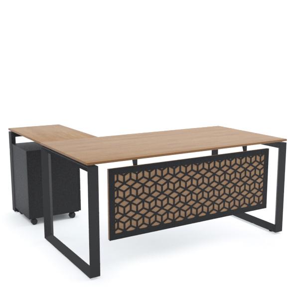 SCHON Office Desk L-Shape