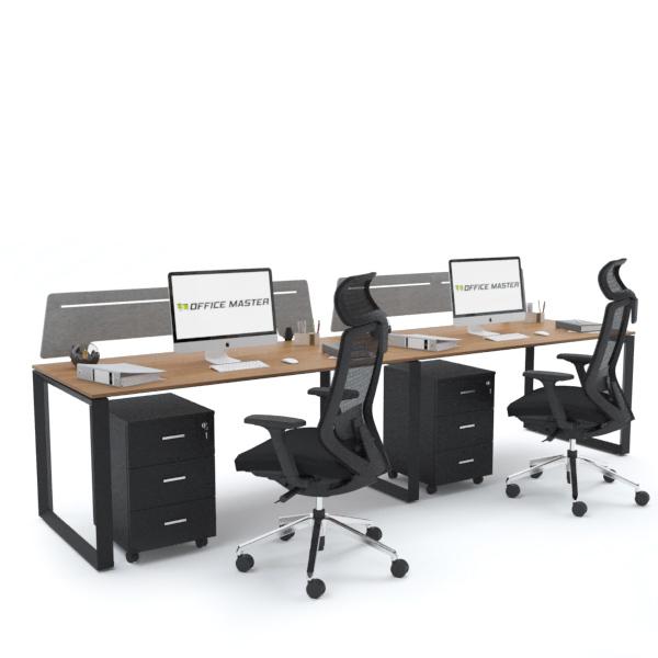 SCHON Workstation Cluster of 2 In-Line