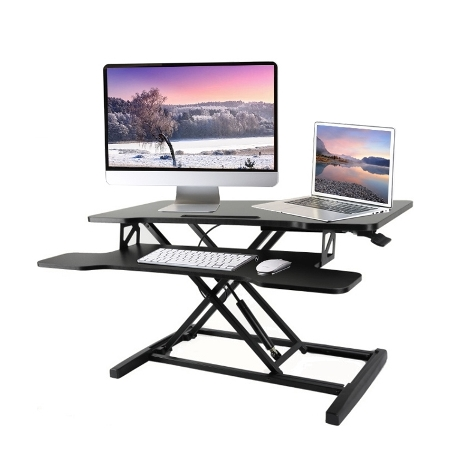 SIT-TO-STAND Height Adjustable Desk Riser
